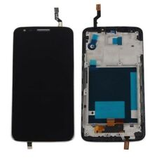 For LG G2 D802 Black Full Touch Screen Digitizer+LCD Display Assembly +Frame