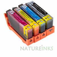 4 NON-OEM ink cartridges alternative to HP Multipack HP364 HP364XL with CHIPSET
