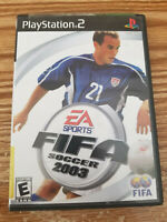 Playstation 2 FIFA Soccer 2003 (Sony PlayStation 2, 2002) PS2 Complete