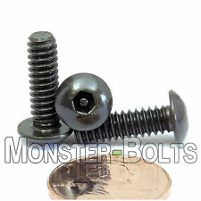 "#10-24 x 5/8"" - QTY 10 - SECURITY SCREWS Button Head Pin In Socket / Hex Bolts"