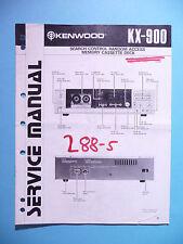 Service Manual-Istruzioni per KENWOOD kx-900, ORIGINALE