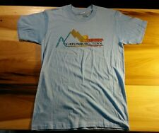 Vintage Paper Thin Gatlinburg Tenn. 80's 1980 t Shirt Mountain Sun Hiking
