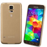 """Débloqué Téléphone Samsung Galaxy S5 4G LTE SM-G900A 16GB 5.1"""" 2GB RAM - Or"""