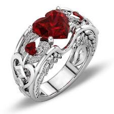 Women Men Jewelry 925 Sterling Silver Larimar Ring Fashion Wedding Gifts Sz 5-10
