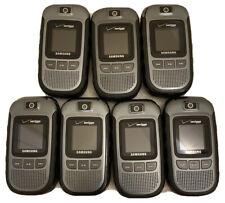 Lot of 7 Samsung Convoy Sch-U640 Verizon Wireless Flip Phone Cell Phone