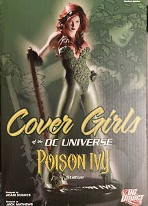 DC Collectibles Comics Cover Girls: Poison Ivy! Statue Adam Hughes Starfire