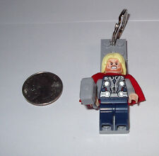 THOR  LEGO TYPE  MARVEL AVENGERDS MINIFIGURE KEYRING BACKPACK CHARM GIFT BOX