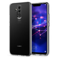 Huawei Mate 20 Lite | Spigen® [Liquid Crystal] Clear TPU Protective Cover Case