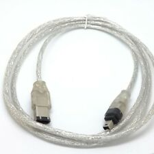 10pcs Fire Wire leads 5 FT 1.5m IEEE 1394 FireWire iLink DV Cable 6 Pin to 4 Pin