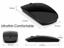 2.4 GHz Wireless Cordless Black Mouse USB Optical Scroll For PC Laptop Computer