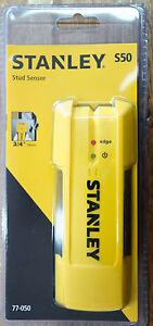 Stanley S50 Stud Sensor Finder New Model Metal & Wood Studs 19mm Wall 77-050