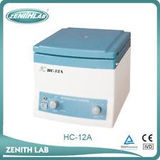 HC-12A Hematocrit Microhematocrit Micro-hematocrit Centrifuge (12,000 RPM)