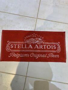 Beer Towels. Bar Towels. Bar Mats. Stella Artois Bar Towel