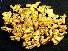 60 pcs Alaska Natural Gold Nuggets / Flake very pretty1