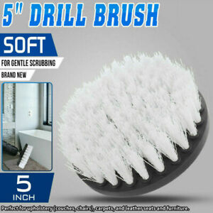 5in Electric Drill Soft Brush For Carpet Leather&Upholstery Cleaning Attachment