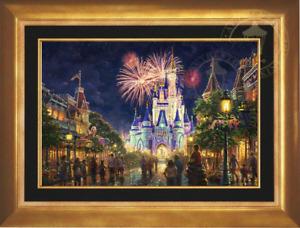 Thomas Kinkade ~~ Main Street USA ~ Walt Disney World ~~ 18x27 G/P