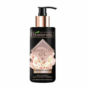 Bielenda Camellia Face Cleansing Oil Face Wash Vitamin E Make Up Remover 140ml
