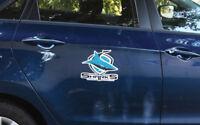 NRL Mega Decal - Cronulla Sharks - Car Sticker 250mm