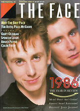THE FACE #81 01/1987 TIM ROTH Paul McGann COLIN FIRTH Janet Jackson GARY OLDMAN