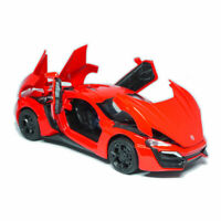 Lykan Hypersport Supercar 1/32 Model Car Diecast Toy Vehicle Collection Gift Red