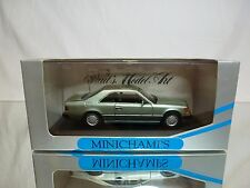 MINICHAMPS 3403 MERCEDES BENZ 230 CE COUPE - CRYSTAL GREEN 1:43 - GOOD IN BOX
