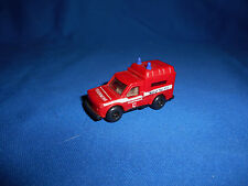GERMAN FIRE FIGHTERS TRUCK #3 Emergency Vehicle Toy Plastic Toy Kinder Surprise