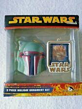 Star Wars Empire Strikes Back Boba Fett Kurt Adler (2005) Holiday Ornament Set t