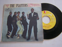 EP 4 TITRES VINYLE 45 T , THE PLATTERS , MY PLAYER . VG  / VG . MERCURY 14.179 .