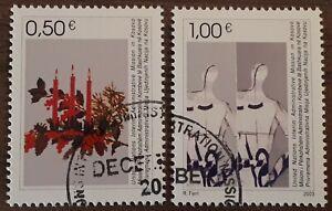 UlTRA RARE 2003 Kosovo Full Set Of 2 Stamps - Christmas - PC/NH c/v £30