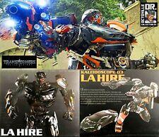 Transformers Masterpiece DX9 Toys K03 La Hire / Last Knight MP Hotrod Brand New