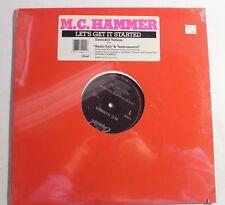"""M.C. HAMMER Let's Get It Started 12"""" Capitol Rec. V-15411 US 1987 M SEALED 13A"""