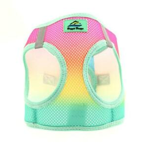 American River Choke Free Dog Harness Ombre Collection Beach Party Sizes XXS-3XL