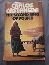 The Second Ring of Power Carlos Castaneda 2nd Printing 1977 HC DJ