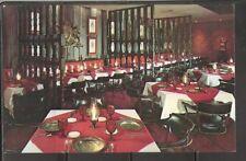 USA. Rib Room , Braintree Massachusetts. Vintage postcard