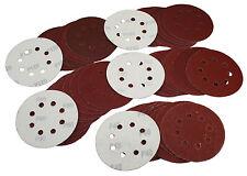 50 Klett Schleifscheiben 125mm Schleifpapier Exzenter Schleifblätter Mix 101181