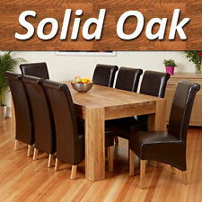 Oak Farmhouse Up to 8 Seats Kitchen & Dining Tables