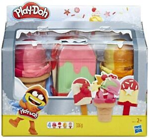 Play-Doh Ice Pops 'n Cones Freezer Play Set Brand New With Fast Free Delivery