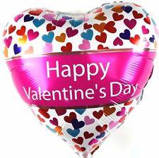 Cœurs Inscription Helium Feuille de Ballons Saint Valentin Mon Saint-Valentin