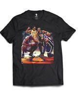Michael Jordan Kobe Bryant Lebron James Tribute Shirt Size Large