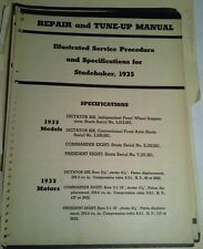 STUDEBAKER SERVICE PARTS MANUALS 1950s, 1941 REPAIR MANUAL LOOSE LEAF PACKET