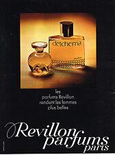PUBLICITE ADVERTISING  1969   REVILLON  parfums DETCHEMA