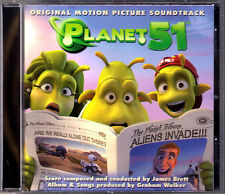 PLANET 51 James Brett Graham Walker OST CD Sophie Green Lollipop Tom Cawte 2009