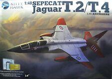 1/48 SEPECAT Jaguar T.2 / T.4 Model Kit by Kitty Hawk Models