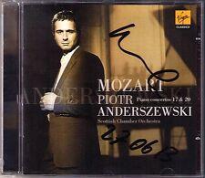 Piotr ANDERSZEWSKI Signiert MOZART Piano Concerto No.17 & 20 CD Klavierkonzerte