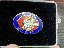 "1985 Cincinnati Reds ""Pete Rose 4192"" Sept. 11 1985 Vintage Rare Press Pin."