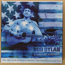 "BOB DYLAN - A long Time growin' **6 x 7""-Vinyl-Box**NEW**blue vinyls**"