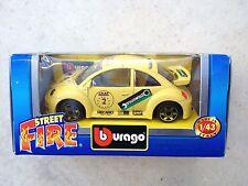 Bburago Burago Volkswagen New Beetle Cup - yellow