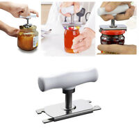 Manual Jar Can Opener Screw Cap Adjustable Bottle Wrench Spiral Seal Lid-Remove-