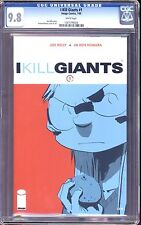 I KILL GIANTS #1,2,3,4,5,6 7 CGC 9.8! LOW CENSUS! AWARD WINNER! MOVIE COMING!