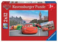 Ravensburger Puzzle Puzzles Kinderpuzzles Disney Mc Queen und Freunde 2x12 Teile